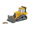 bulldozer Spardose di poli, B17 x H11 T8 x cm