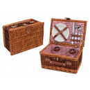 wholesale Outdoor & Camping: Picnic basket for 2 persons from pasture, 11-piece