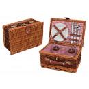 cesta de picnic para 2 personas de pastos, 11 piez