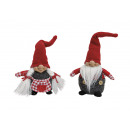 donna Elf / uomo rosso / grigio tessile, ordinare