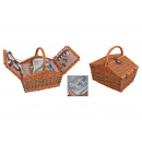 wholesale Sports & Leisure: Picnic basket for 2 persons from pasture, 15-piece