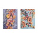 wholesale Pictures & Frames: Mural frame Fruit, 2-way assorted, B40 x T