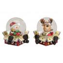 Snow Globe karácsonyi motívummal doboz üveg / Pol
