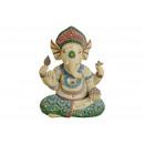 Ganesh di poli tinto (B / H / T) 17x23x11cm