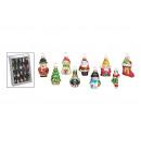 hurtownia Dom & Kuchnia: Weihnachtsanhänger zestaw ze szkła, 20 sztuk, o B5