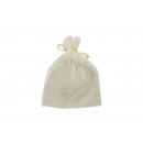wholesale Gift Wrapping: Gift bag made of organza, in cream, B12 x H17