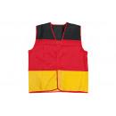 Großhandel Mäntel & Jacken: Weste Deutschland aus Polyester, B55 x T60 cm