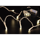 LED stringa di luce 10, nel bianco caldo, coperta