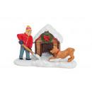 Miniatyrbarn med hund- och polyhund kennel, B9