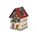 Lanterna-casa Orso casa della porcellana B12 x T10
