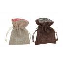 tessile Geschenksäckchen, 2- assortito, B10