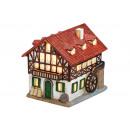Lantern House mulino di porcellana, B12 x T16 x H1