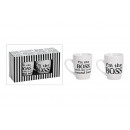 wholesale Home & Living: Mug-Set Boss of porcelain, 2-piece, 10 cm