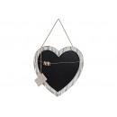Boards Memo cuore di legno, B49 x H50 cm