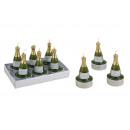 bottiglia di champagne Teelicht, 6 pezzi, B7 x cm