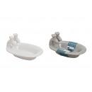 wholesale Bath Furniture & Accessories: Soap dish made of ceramic, 2-way sorting