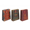 wholesale Gifts & Stationery: Gift paper sayings, 3-way assorted,