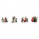 Miniatűr gyermekek csoportja poli, 4- szer szortír