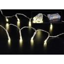 wholesale Light Garlands: LED light chain 20pcs, in warm white, indoor