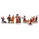 Miniatűr Christmas számadatok poli szortírozott ki