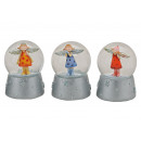 wholesale Gifts & Stationery: SNOWWOOD ANGEL COLORED POLY / GLASS 4- assorted 9