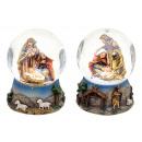 wholesale Snow Globes: assorted globe crib made of poly, assorted , 6 cm