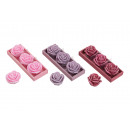 Candela set Rose, 3-piece, 3- assortito, B5 x H