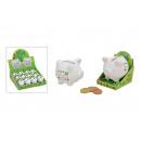 Piggy Viel Glück ceramica, B5 x T4 x H5 c