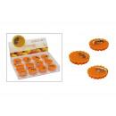 Großhandel Duftlampen: Duftwachs Orange für Duftlampen, ca. 15g, 5 cm Dur