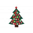 Advent calendar, tree made of felt, B73 x H95 cm