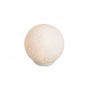 wholesale Lampes: Table lamp sphere white porcelain, B15 cm