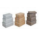 Dobozok meghatározott kartonból, 3-részes, 3- szor
