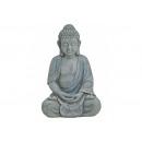 Buddha a magnézia, B18 x T21 x H31 cm