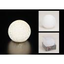 Großhandel Garten & Baumarkt: Lichtkugel LED für innen, 6 Stunden Timer, 12 cm
