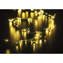 Luci di Natale 200 LED bianco caldo, multifunziona