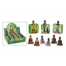 wholesale Gift Wrapping: Buddha in gift assorted, of poly, 12-fold assorted