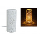 wholesale Lampes: Table lamp Cylinder white porcelain, B28 x T12