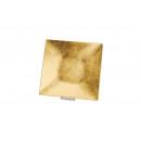 vassoio d'oro in plastica, B24 x H24 cm