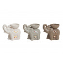 wholesale Home & Living: Ceramic assorted, lamp, 3-way assorted, B1