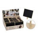 Boards Memo di legno, con clip, B15 x H12 cm