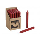 Stabkerze Colore: rosso scuro (B / H / T) 2x18x2cm