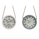 wholesale Clocks & Alarm Clocks: Wall Clock Vintage, 2-way assorted, B8 x T30