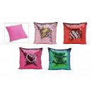 cuscino con paillettes Cambio colore da velluto 4