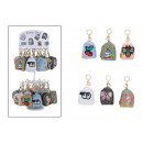 wholesale Bags & Travel accessories: Keychain on stand bag with sequin