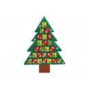 II-Wahl Adventskalender Baum aus Filz Bunt (B/H) 7
