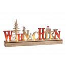 Großhandel Home & Living: Aufsteller Schriftzug WEIHNACHTEN mit ...