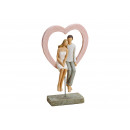 grossiste Décoration: Couple d'amoureux avec le coeur sur ...