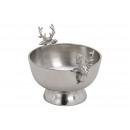Scocca in alluminio argento (L / H / P) 22x14x16 c