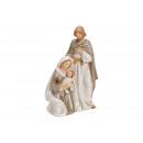 Presepe in porcellana bianco, beige (B / H / D) 9x