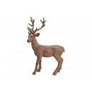 Cervo Poly Brown (B / H / D) 32x50x10cm
